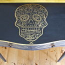 Mexican Skull Console Table