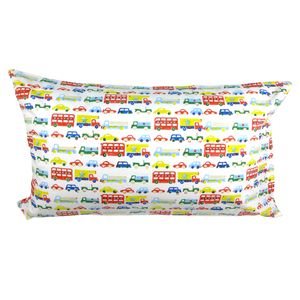 Cars And Buses Single Pillowcase - bed linen