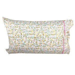 Original Floral Single Pillowcase - bedroom