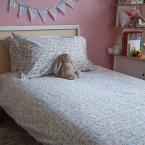 Floral Single Duvet Cover - bed linen