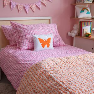 Butterfly Single Duvet Cover - soft furnishings & accessories