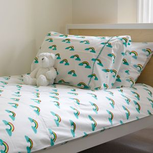 Rainbow Single Duvet Cover - bedding & accessories