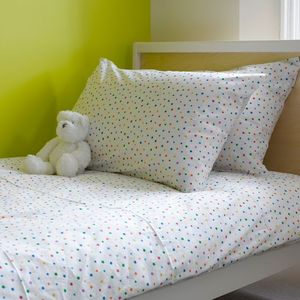 Multicolour Star Single Duvet Cover - bedroom