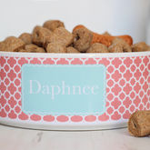 Personalised Pet Bowl Clover - pets