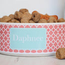 Personalised Pet Bowl Clover