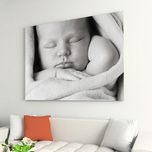 Your Photo On Canvas - living room