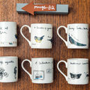 Garden Birds Bone China Bird Mug