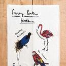 Fancy Pants Birds Tea Towel