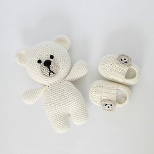 Hand Crafted Baby First Shoes - christening gifts