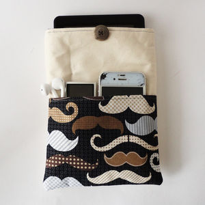 Moustache Gadget Cover - summer sale