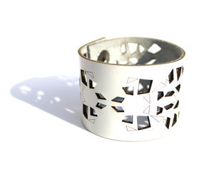 Leather Cuff - statement jewellery