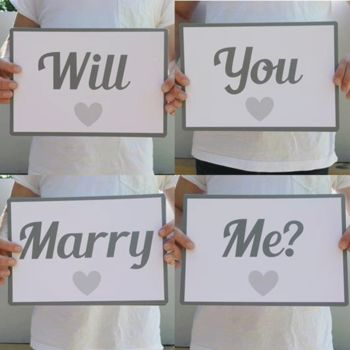 Will You Marry Me? Flashcards