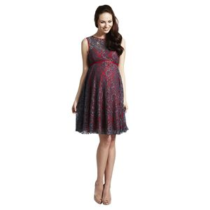 Lizzie Lace Maternity Prom Dress - women's fashion