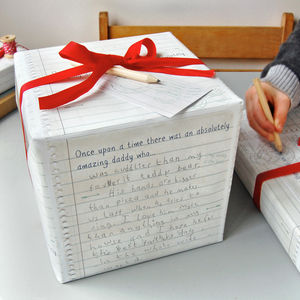 'Write Your Own' Father's Day Wrapping Paper - cards & invitations