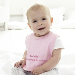 Personalised Little Princess Baby Bib
