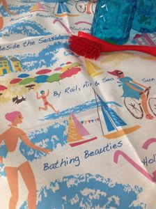 Seaside Tea Towel