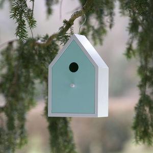 Bird Nesting House - garden with children