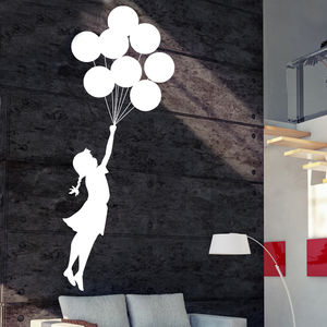 Banksy Escapism Wall Sticker - wall stickers