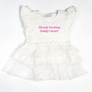 'Heartbreaker' Tutu Bodysuit - clothing