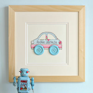 Personalised Embroidered Car Artwork