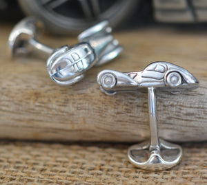 Limited Edition Bugatti Type 57 Car Cufflinks - view all sale items