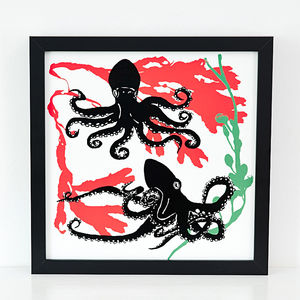 Octopus Screen Print