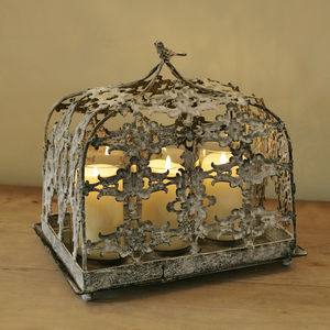 Filgree Metal Hurricane Lantern - lighting