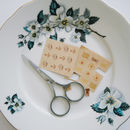 Great British Biscuit Nail Transfers