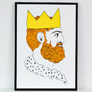 King Screen Screen Print