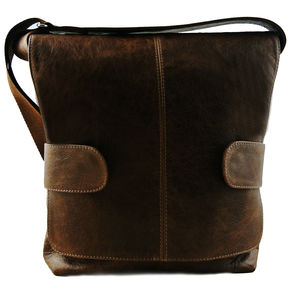 Hand Crafted Kenton Messenger Bag Various Colours - men's accessories
