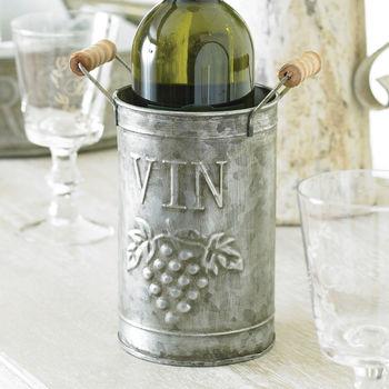 Zinc Wine Bottle Holder