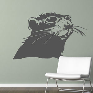 Banksy Rat Wall Sticker