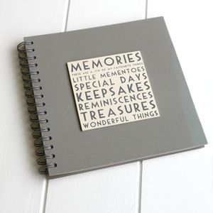 Memories Book/ Album