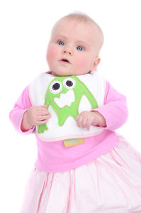 Very Cute Handcrafted Monster Bib