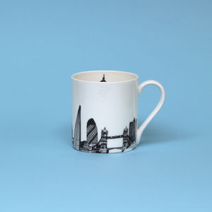 London Skyline Mug - tableware