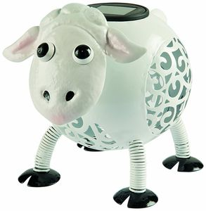 Decorative Sheep Solar Light Ornament - lights & lanterns