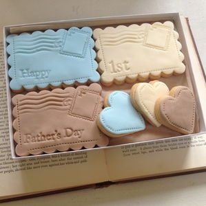 Happy First Father's Day Cookie Box