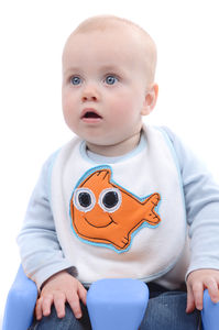 Cute Handcrafted Fish Bib