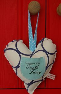 Tooth Fairy Padded Heart