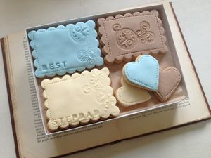 Best Stepdad Cookie Gift Box