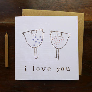 I Love You Card - mother's day cards
