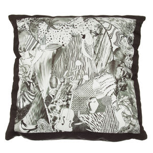 Jenny Collicott Monochrome Cushion - patterned cushions