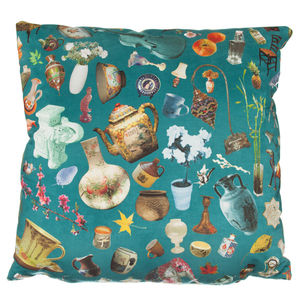 Jenny Collicott Teacup Cushion - cushions