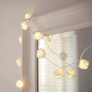 Rose Battery Fairy Lights - lighting