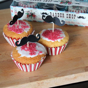 Moustache Cupcake Props Baking Kit - kitchen accessories