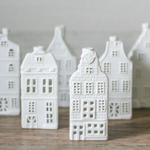 Porcelain Canal House Tea Lights - votives & tea light holders