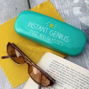 Instant Genius Glasses Case - bags & purses