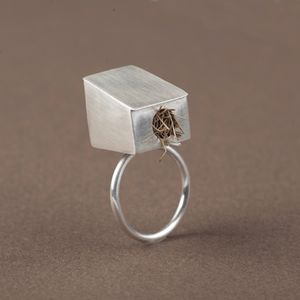Birdhouse Ring - rings