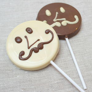 Fathers Day Chocolate Lolly - sweet treats
