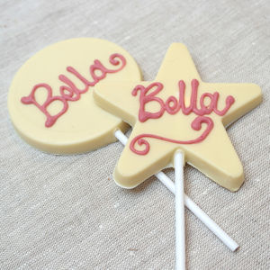 Hen Party Or Bridesmaid Chocolate Lolly - food & drink gifts